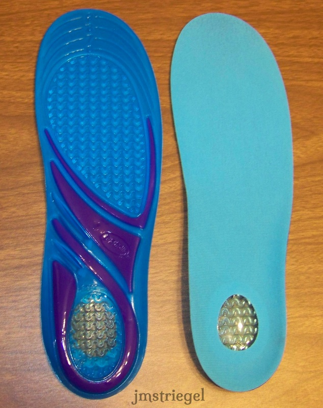 gel sole inserts for comfort